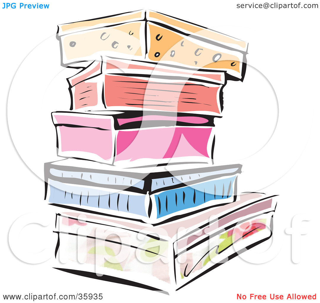 Boxes clipart drawing. Shoe box at getdrawings