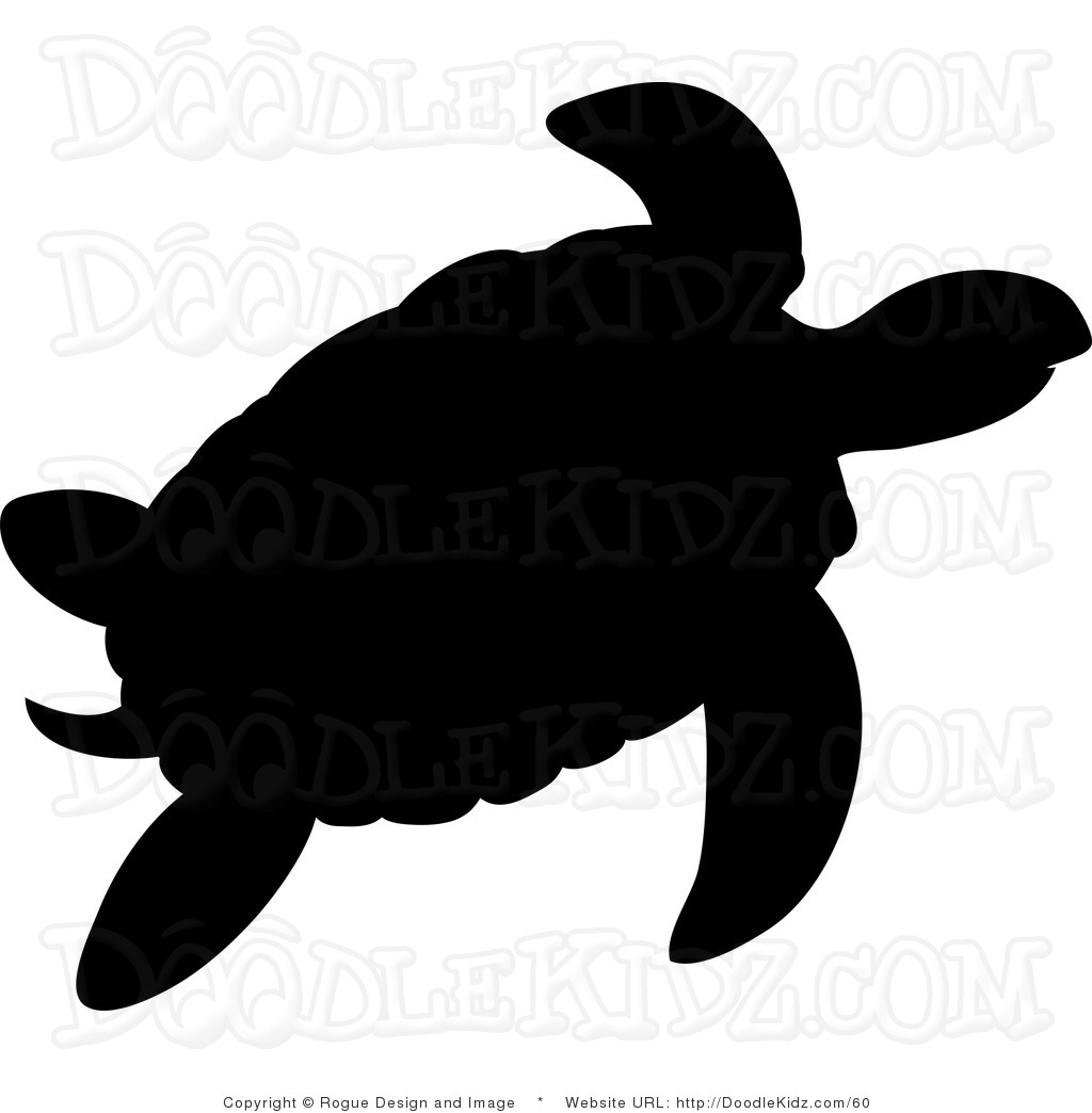 Box clipart silhouette. Turtle at getdrawings com