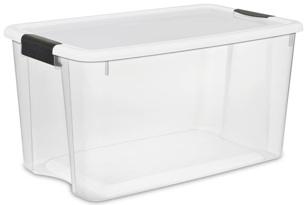 Sterilite quart ultra. Box clipart storage bin
