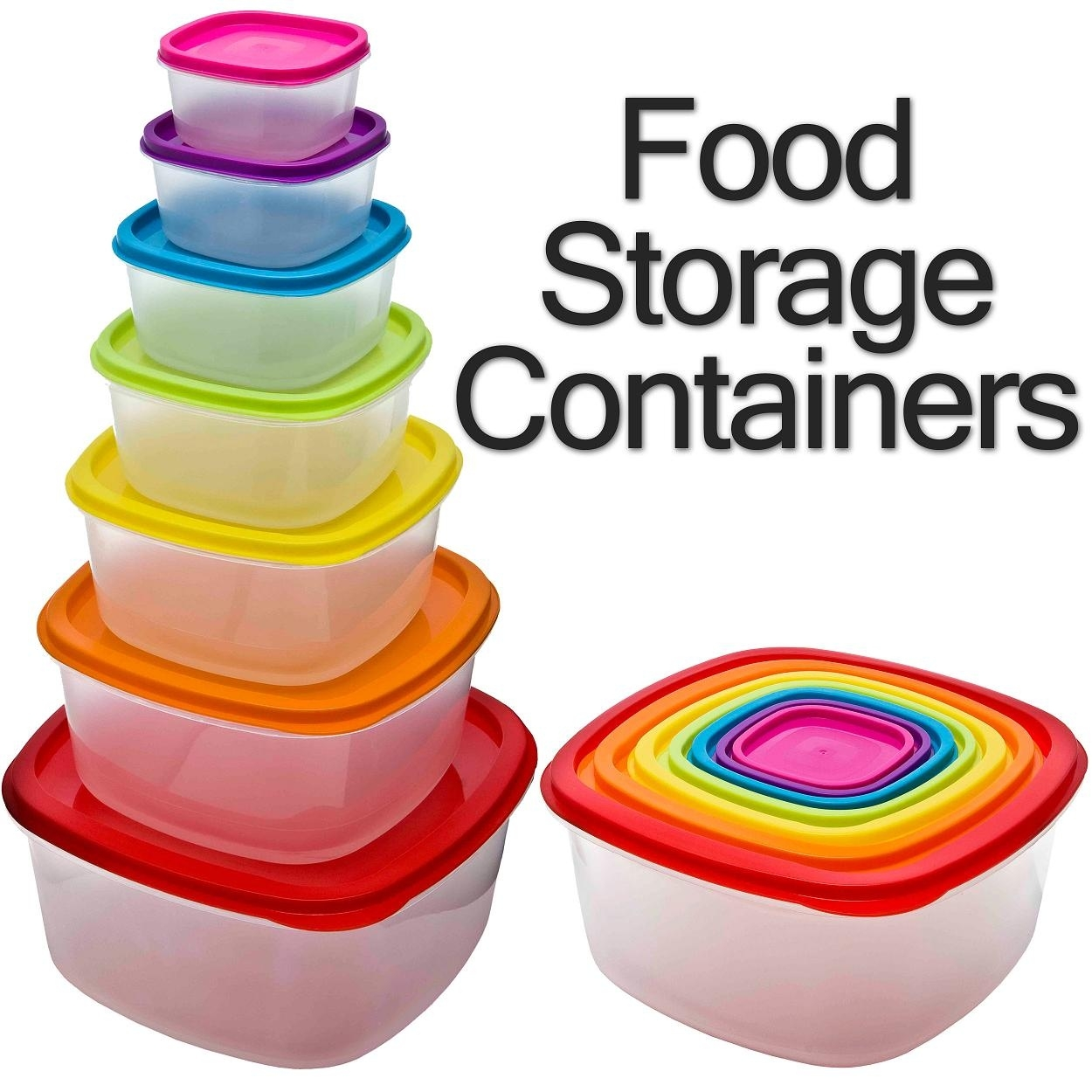 Nested food boxes ideas. Box clipart storage bin