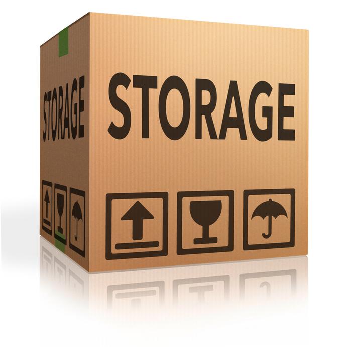 Box clipart storage bin. Self personal