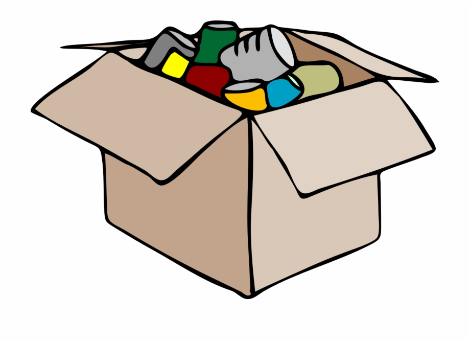 Box clipart storage box. Move cartoon of clothes