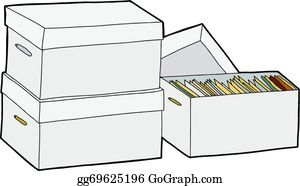 Boxes clip art royalty. Box clipart storage box