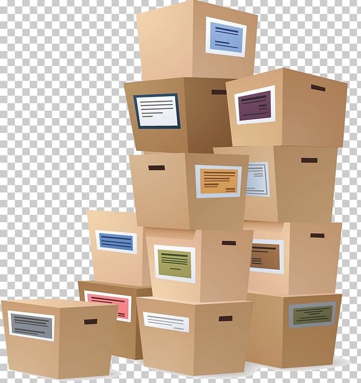 Mover relocation self service. Box clipart storage box