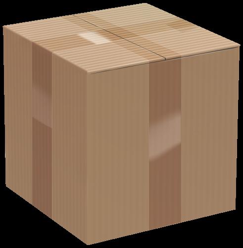 Boxes clipart transparent. Cardboard box clip art