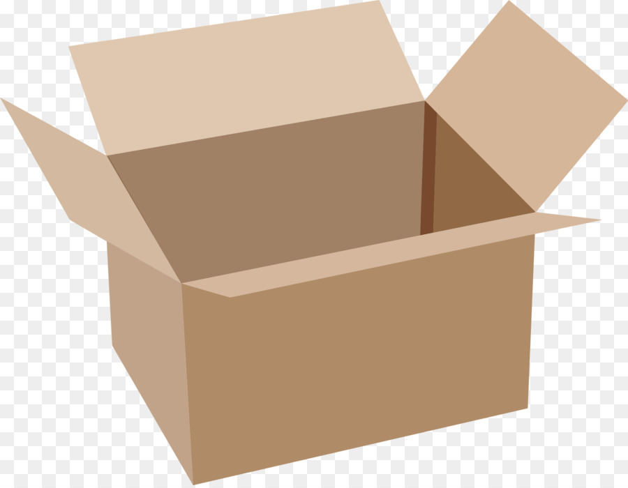 Boxes clipart transparent. Cardboard box rectangle square