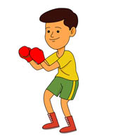 Sports free boxing to. Boxer clipart