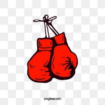 Gloves clipart vector. Red boxing png psd