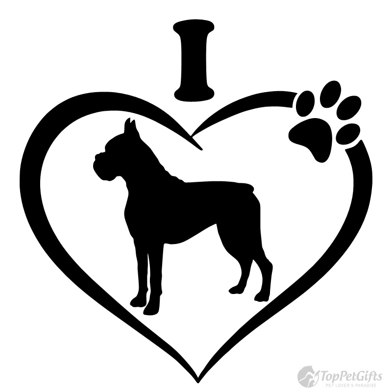 Boxer clipart black and white. Silhouette dog at getdrawings
