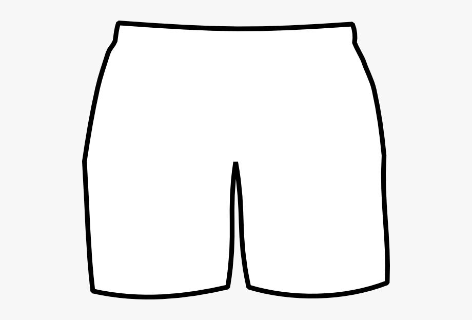 Briefs blank black shorts. Boxer clipart boxer brief