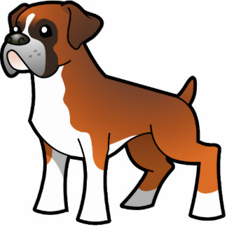Group collection sitting and. Boxer clipart boxer dog