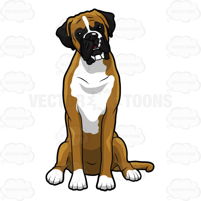 dog clipartlook. Dogs clipart boxer