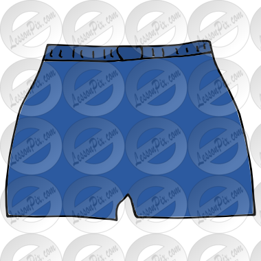 Picture for classroom therapy. Boxer clipart boxer shorts