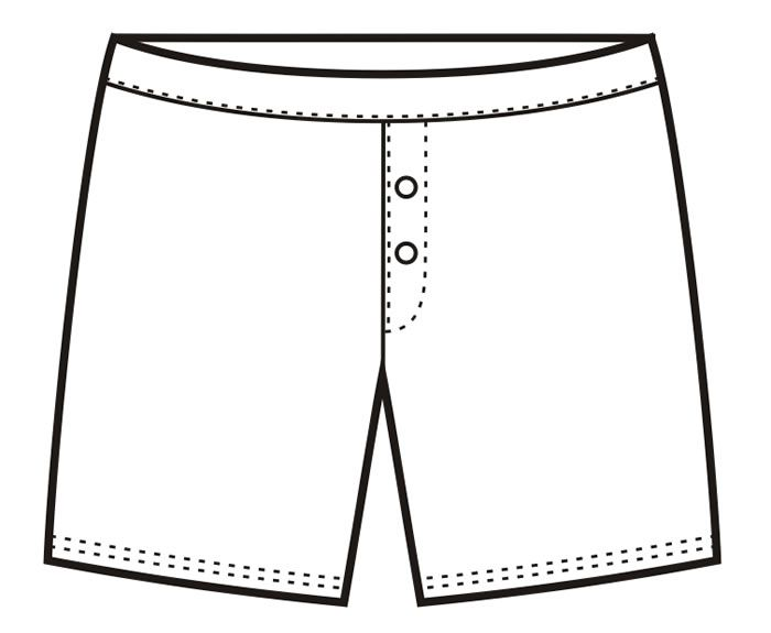 Boxer clipart boxer shorts.  collection of underwear