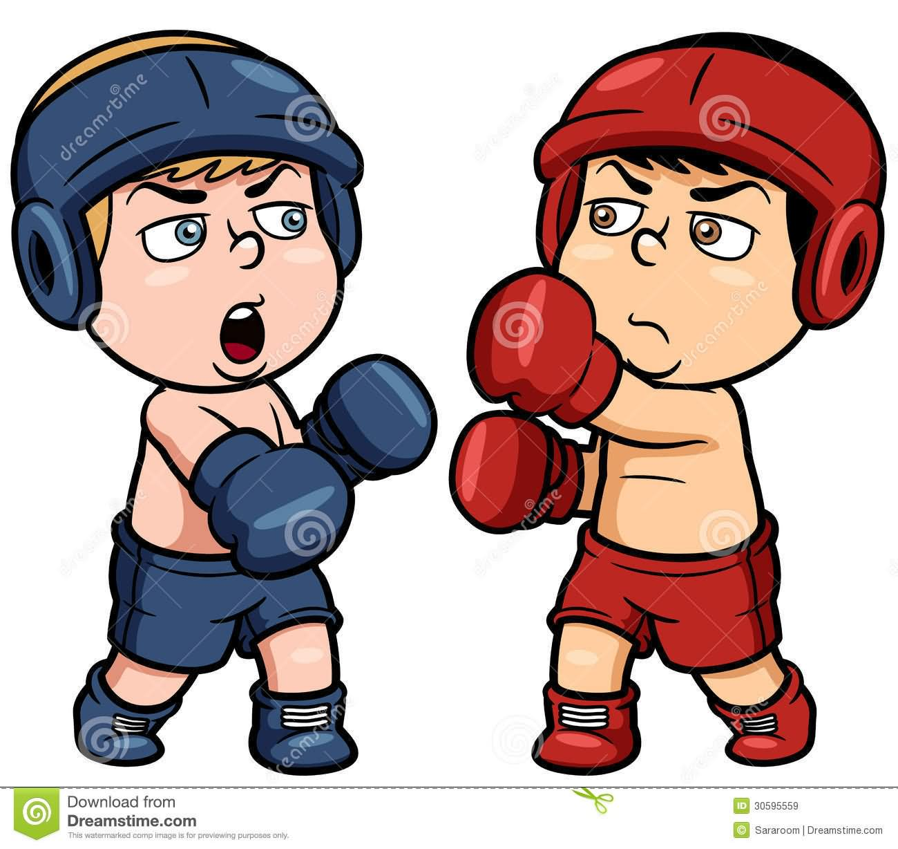 Boxer clipart boxercise.  very funny boxing