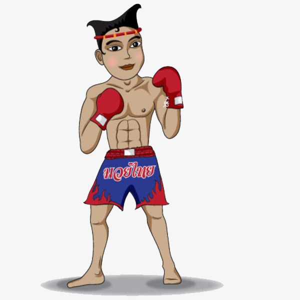 Cartoon characters gloves png. Boxer clipart boxing