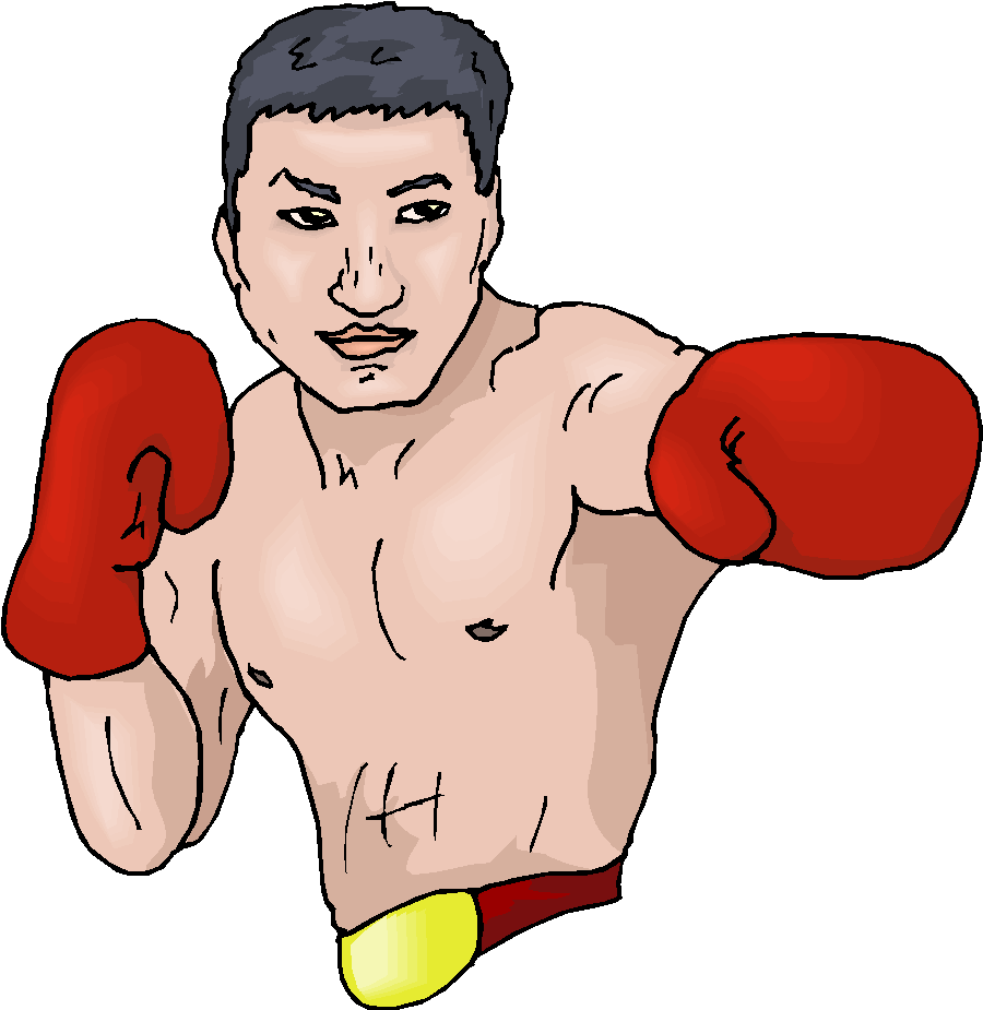 Free . Boxer clipart boxing