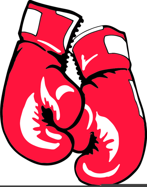 And gloves free images. Boxer clipart boxing