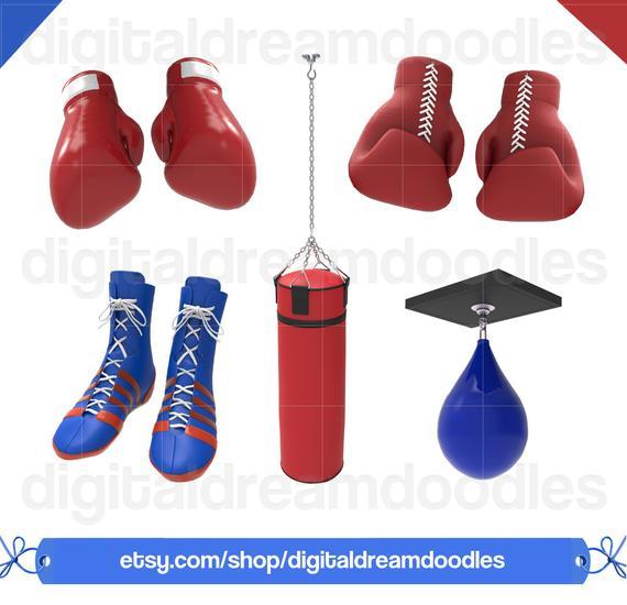 Boxer clipart boxing bag. Clip art graphic image