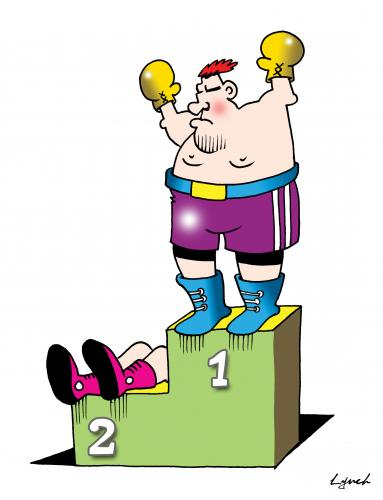 Boxer clipart boxing knockout. The by toons sports