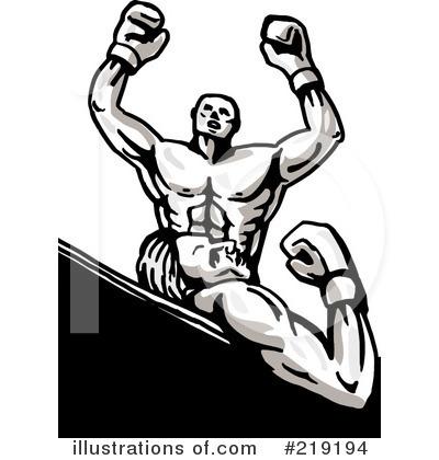 Illustration by patrimonio royaltyfree. Boxer clipart boxing knockout