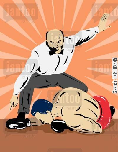 Match jantoo cartoons. Boxer clipart boxing knockout