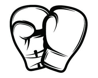 Boxer clipart boxing knockout. Gloves svg etsy fight