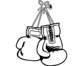 Gloves svg etsy fight. Boxer clipart boxing knockout
