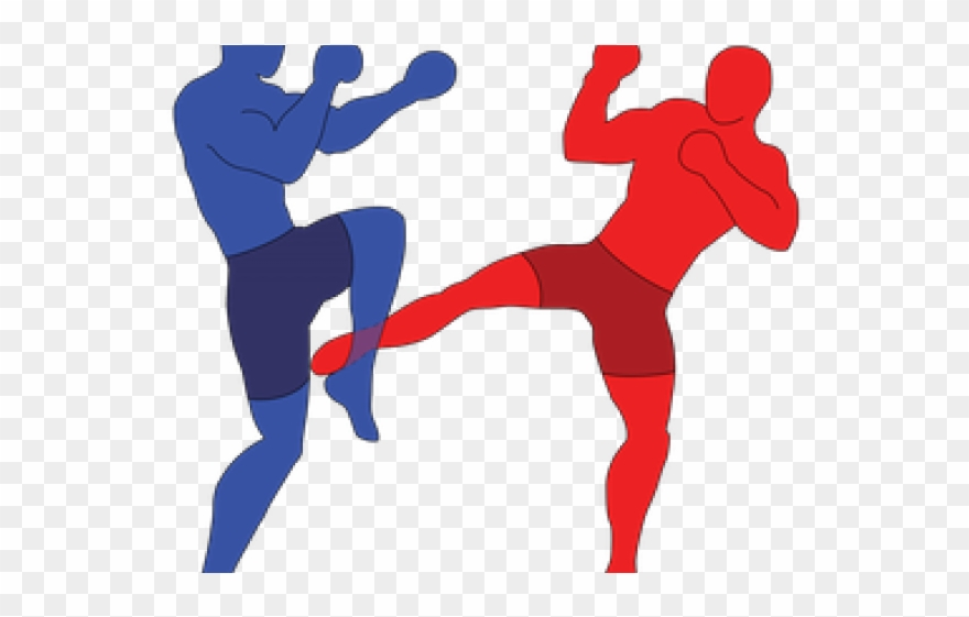 Boxer low png transparent. Boxing clipart kick boxing