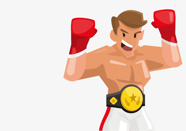 Cartoon fighting game png. Boxer clipart boxing match