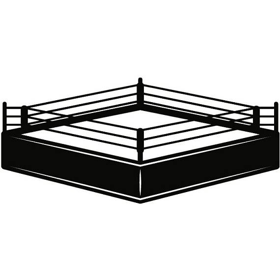 Boxer gloves fight fighting. Boxing clipart boxing ring