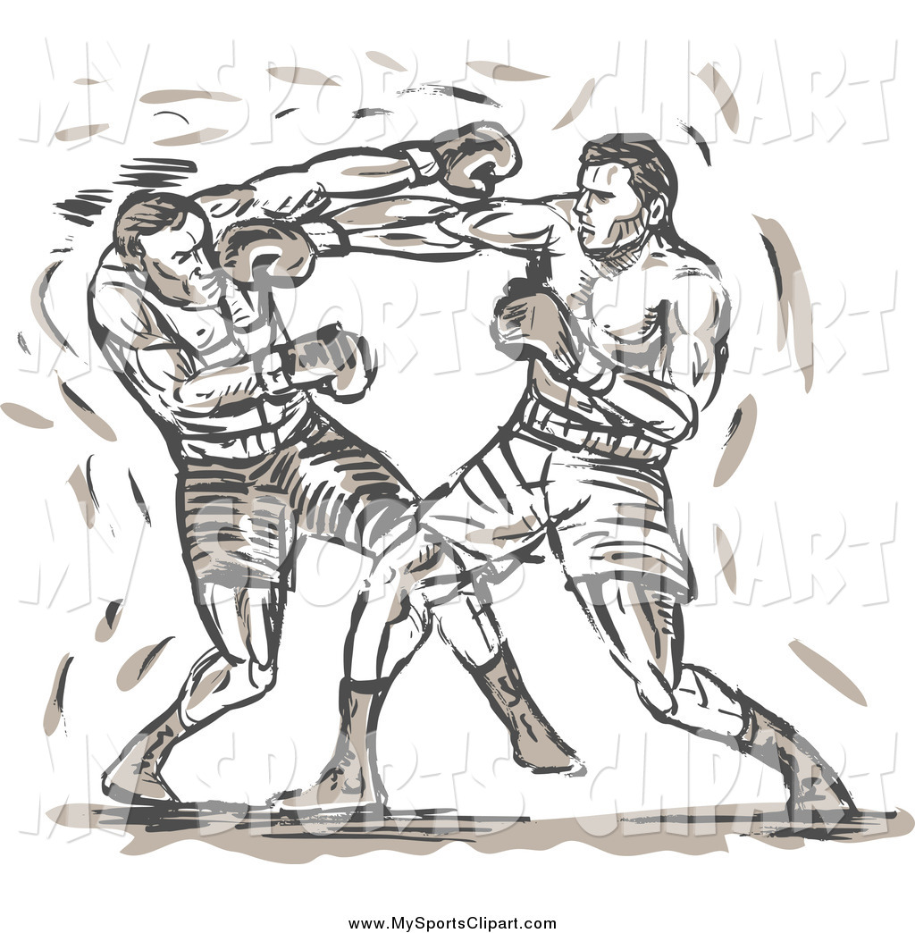 Sports clip art of. Boxer clipart boxing sport