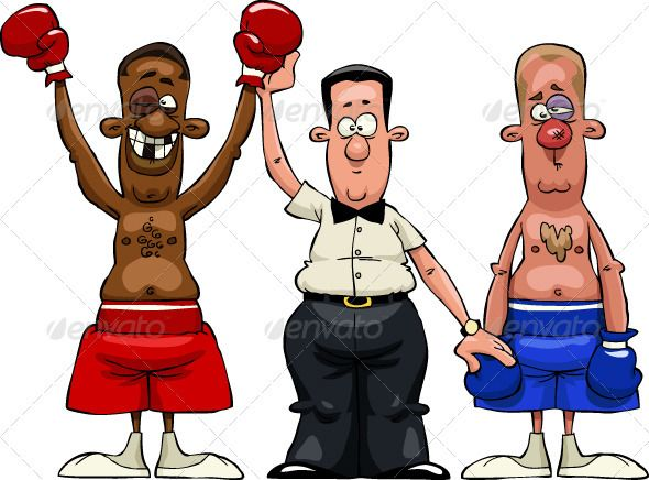 Boxer clipart boxing winner. Boxers vector graphics infographics