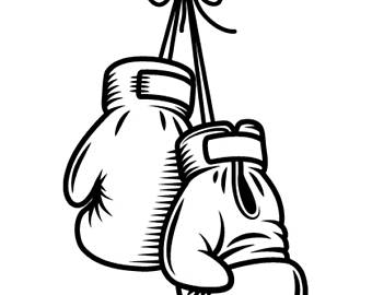Boxer clipart fighter. Boxing clip art etsy