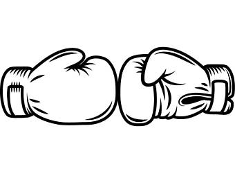 Boxer clipart fighter. Boxing logo fight fighting