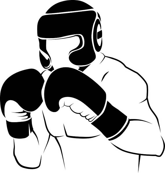 Boxer clipart fighter. Boxing fight fighting mma