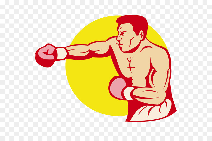 Boxing glove royalty free. Boxer clipart jab