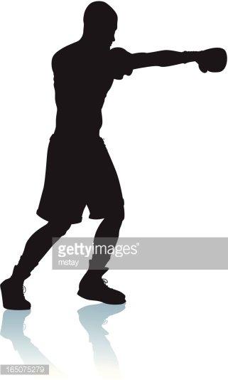 Boxer clipart jab. Boxing premium clipartlogo com