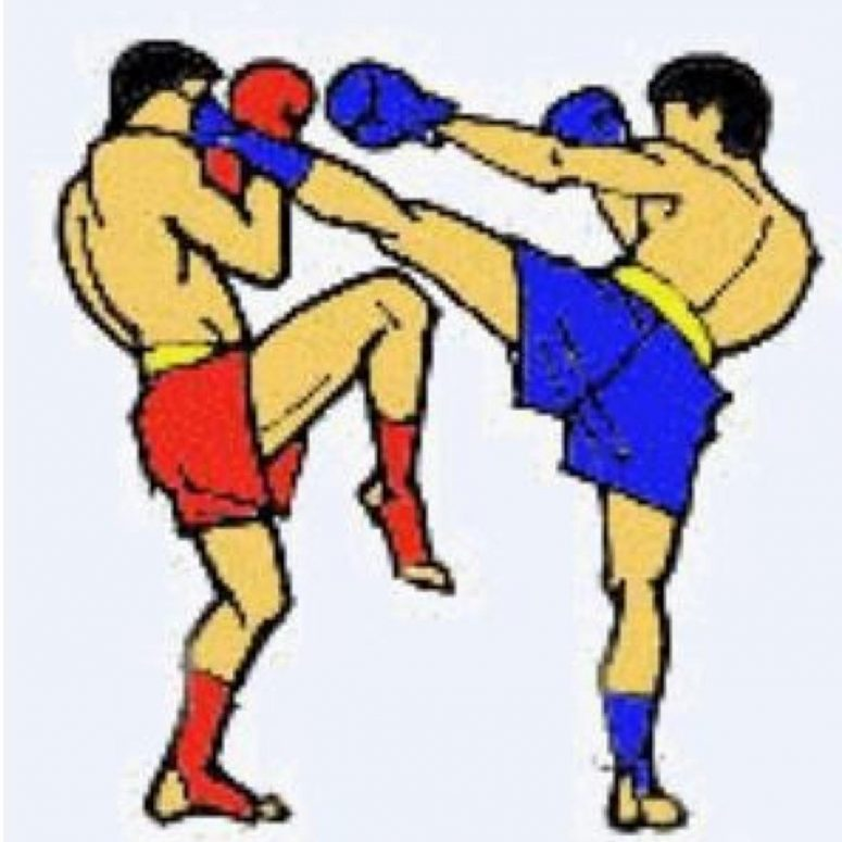 Boxer clipart kickboxing. Best hd kick boxing
