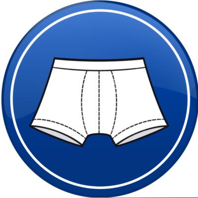 Boxer clipart knickers. Chaffree underwear mens
