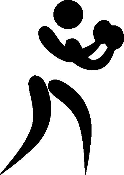 Olympic boxing logo clip. Boxer clipart logos