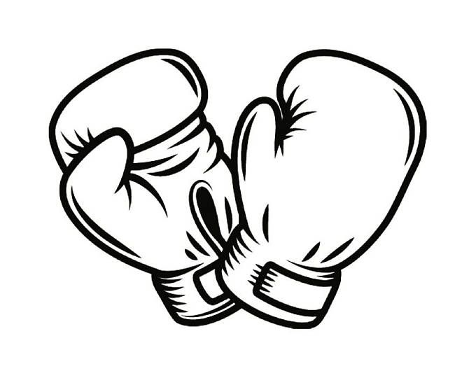 Boxer clipart mma. Pin on retirement