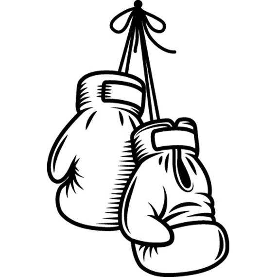 Boxing gloves fight fighting. Boxer clipart mma
