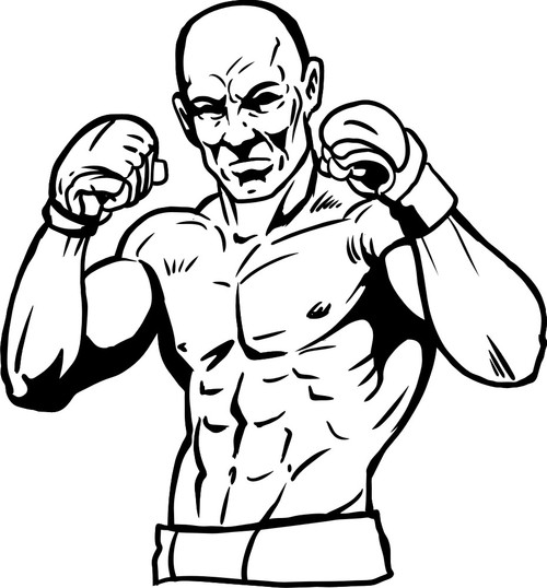 Boxer clipart mma. The bible answer show