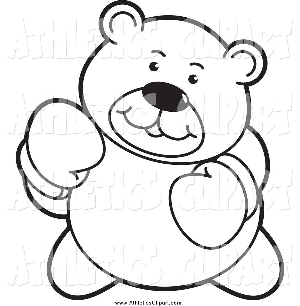 Boxer clipart outline. Clip art of a
