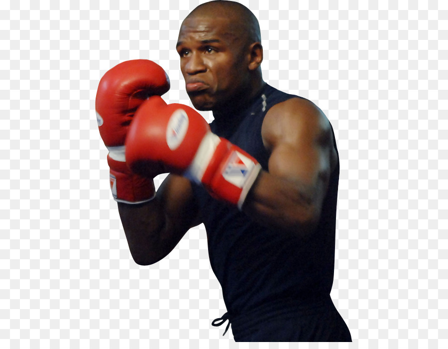 Floyd mayweather jr vs. Boxer clipart professional boxer