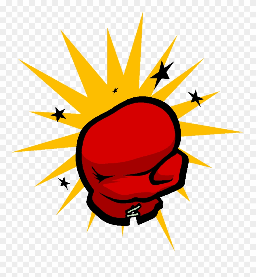 Boxing gloves clip art. Boxer clipart punching