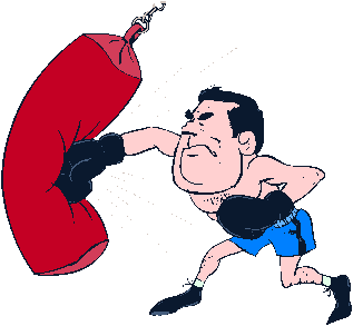 Download bag free png. Boxer clipart punching