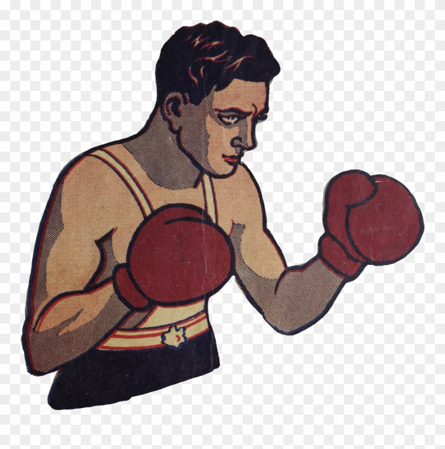 Boxinggloves sport manga boxing. Boxer clipart vintage