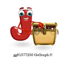 Boxes clipart alphabet. Drawing cartoon character of